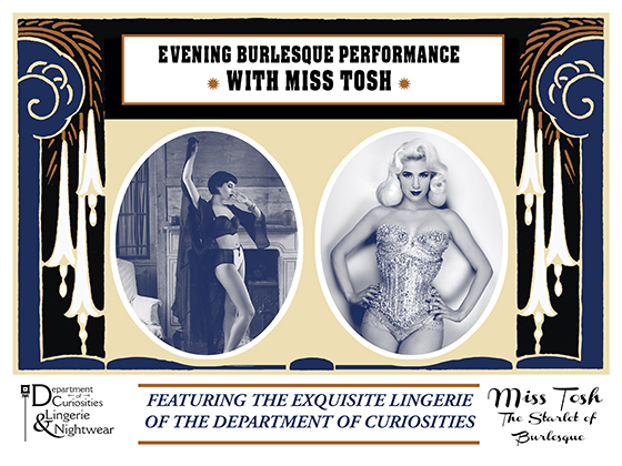 Miss Tosh and Department of Curiosities