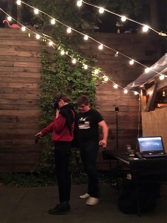 Jonathan Biz Medina presents the VR interpretation of The Effulgence of the North