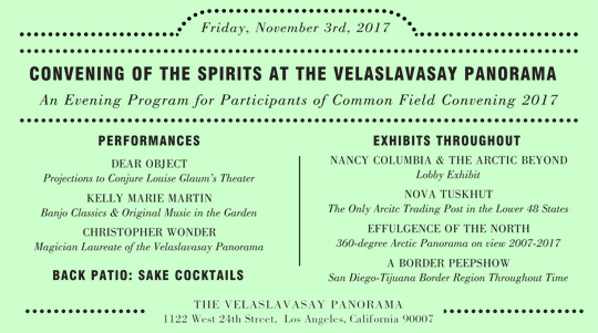 Convening of the Spirits Event Program